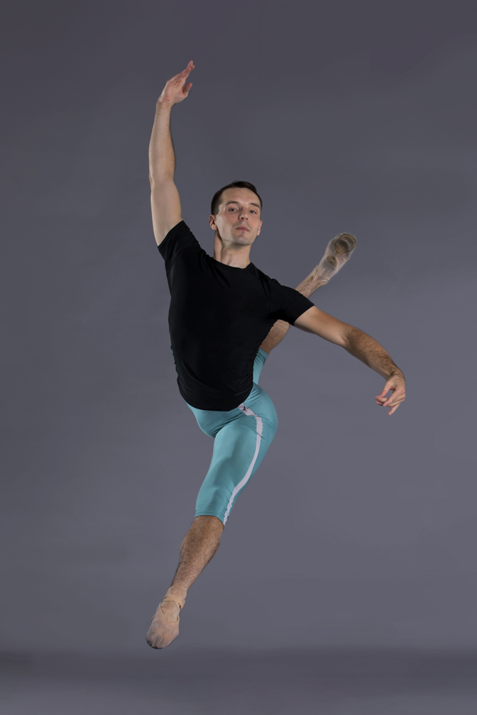 1L Benjamin Wetzel's impressive career in professional ballet dancing includes major parts in numerous productions for ballets in Louisville and Nashville.